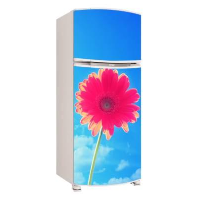 Adesivo para Envelopamento de Geladeira para Porta Flores 2
