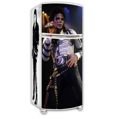 Adesivo para Envelopamento de Geladeira Completa Michael Jackson