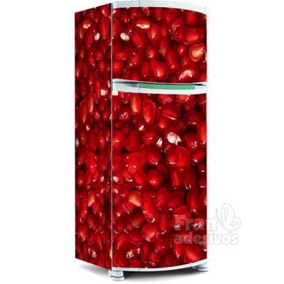 Adesivo para envelopamento de geladeira - Romã