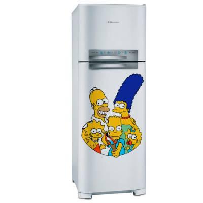 Adesivo de Geladeira Os Simpsons