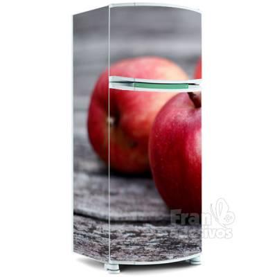 Adesivo para envelopamento de geladeira - Maçã