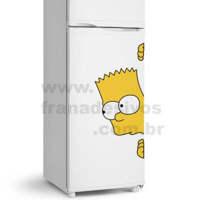 Adesivo de Geladeira Os Simpsons - Bart