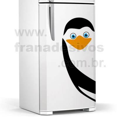 Adesivo de Geladeira Pinguim de madagascar modelo 4