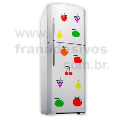 Adesivo de Geladeira Salada de frutas