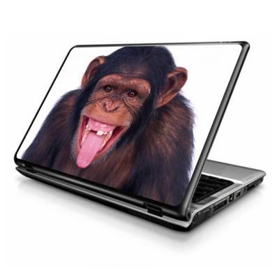 Adesivo Skin para Notebook Macaco Feliz