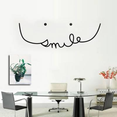 Adesivo para Parede Smile Sorriso