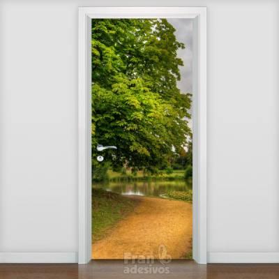 Adesivo de porta Paisagem 012