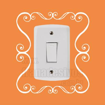 Adesivo de parede - Interruptor - Quadro