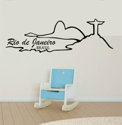 Adesivo De Parede Cidades E Monumentos Rio De Janeiro