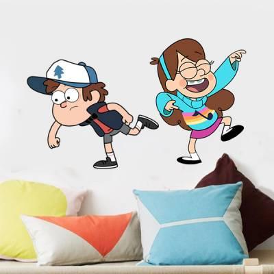 Adesivo de Parede Infantil Desenho Gravity Falls