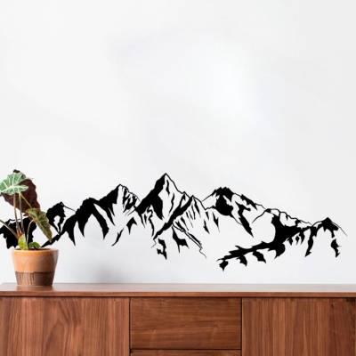 Adesivos De Parede Montanhas do Alasca