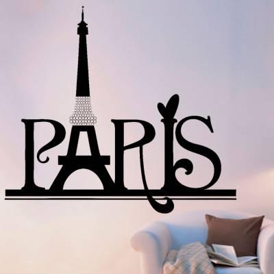 Adesivo De Parede Cidades E Monumentos Paris 02