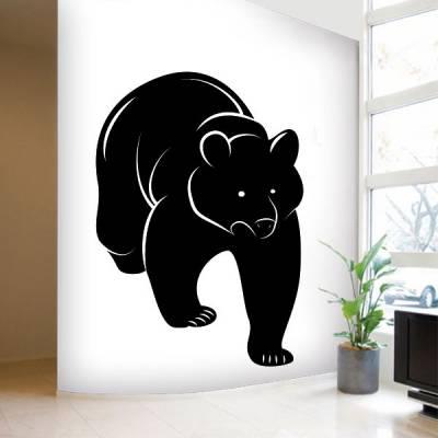 Adesivo de Parede Animais Urso