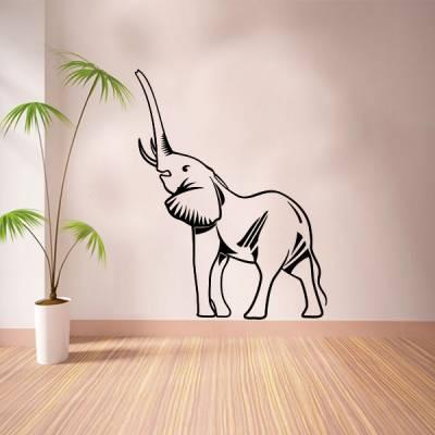 Adesivo de Parede Animais Elefante Modelo 3