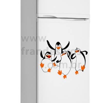 Adesivo de Geladeira Pinguim / Pinguins de madagascar 2