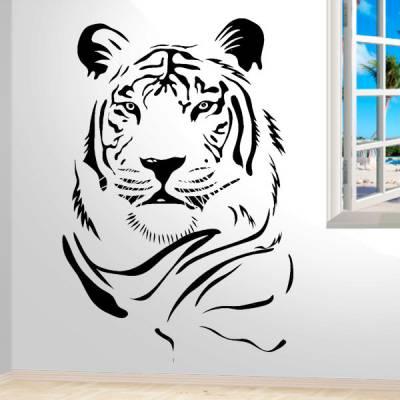 Adesivo de Parede Animais Tigre