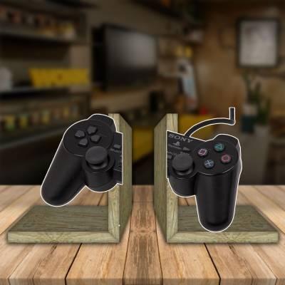 Aparador de Livro Decorativo Controle Playstation