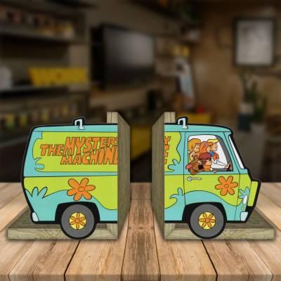 Aparador de Livro Decorativo Scooby Doo e Sua Turma