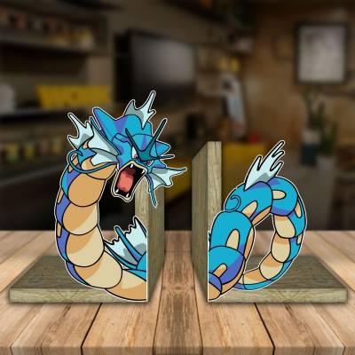 Aparador de Livro Decorativo Pokemon Gayrados