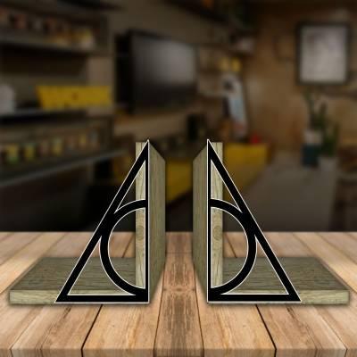 Aparador de Livro Decorativo Filmes Harry Potter Relíquias Da Morte