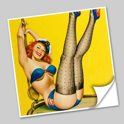 Azulejo Unitário Pin-up 175