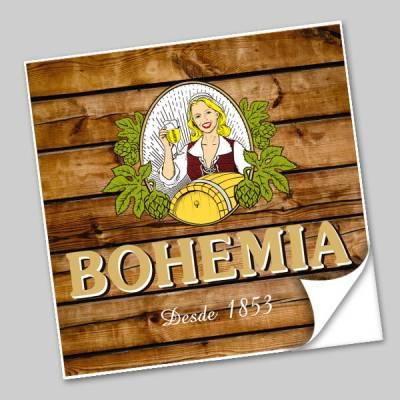 Azulejo Unitário Rótulo de Cerveja Bohemia 171