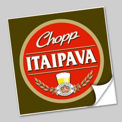 Azulejo Unitário Rótulo de Cerveja Itaipava Chopp 172