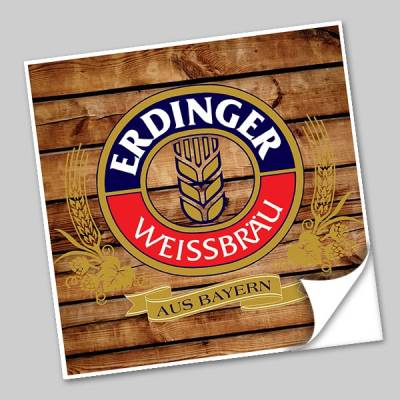 Azulejo Unitário Rótulo de Cerveja Aus Bayern 242