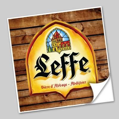 Azulejo Unitário Rótulo de Cerveja Leffe 250