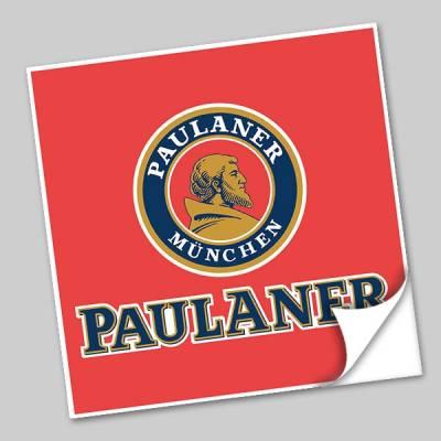 Azulejo Unitário Rótulo de Cerveja Paulaner 245