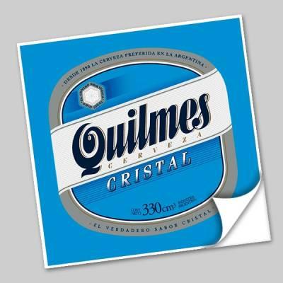 Azulejo Unitário Rótulo de Cerveja Quilmes 244