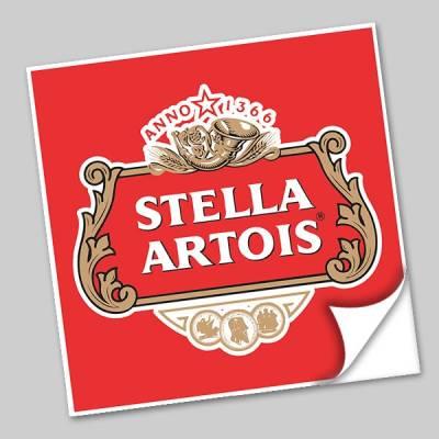 Azulejo Unitário Rótulo de Cerveja Stella Artois 239