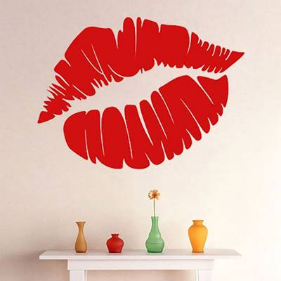 Adesivo de Parede Beijo