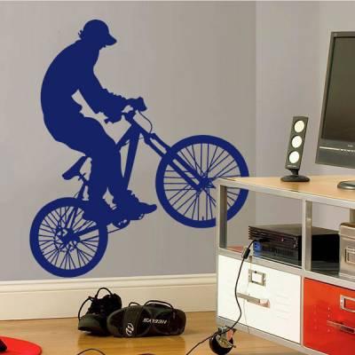 Adesivo de Parede Bike BMX