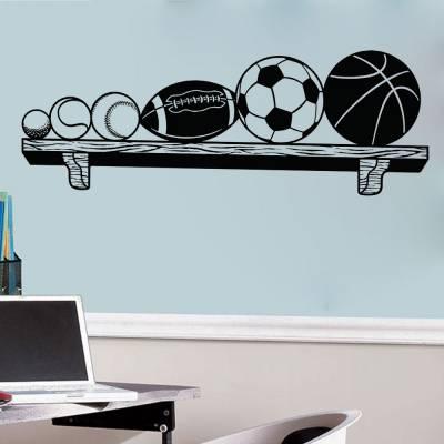 Adesivo de Parede Bolas Esportivas