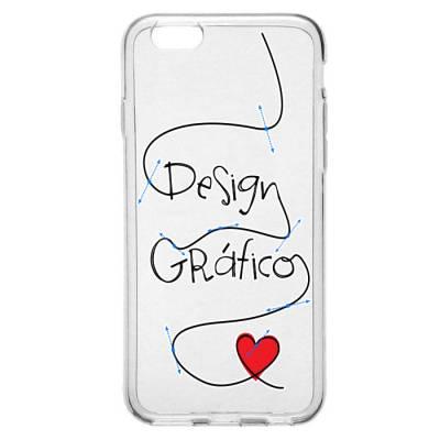 Capinha para Celular Designer Gráfico Feminino