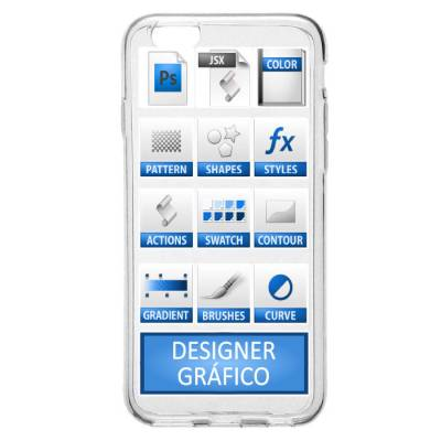 Capinha para Celular Designer Ferramentas