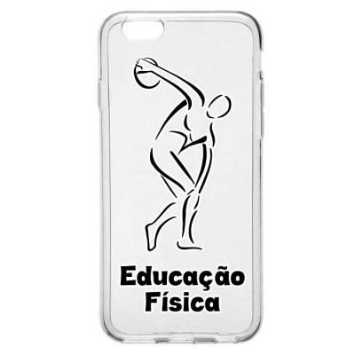 Capinha para Celular Educação Física Logo