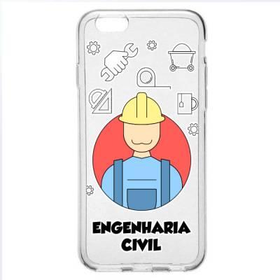 Capinha para Celular Engenharia Civil