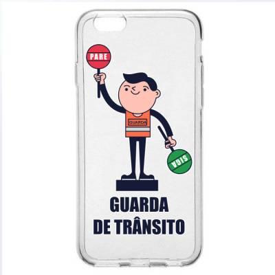Capinha para Celular Guarda de Trânsito