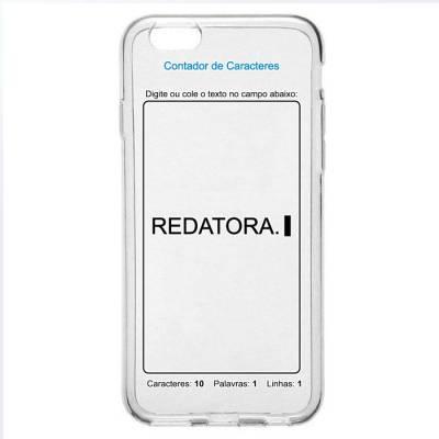 Capinha para Celular Redatora