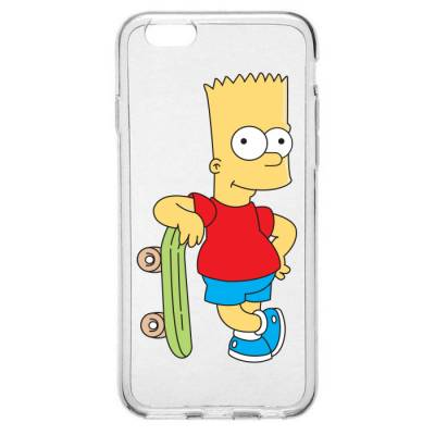 Capinha para Celular Bart Simpson