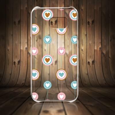 Capinha para Celular Diversas Corações 5