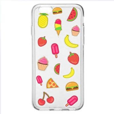 Capinha para Celular Frutas e Sorvetes