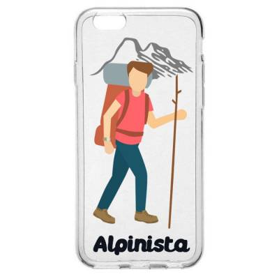 Capinha para Celular Profissão Homem Alpinista