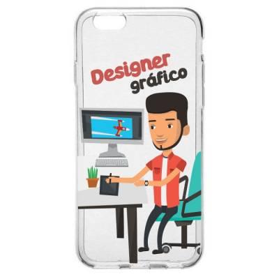 Capinha para Celular Profissão Homem Designer Gráfico