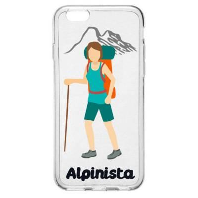 Capinha para Celular Profissão Mulher Alpinista