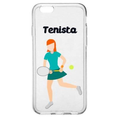 Capinha para Celular Profissão Mulher Tenista