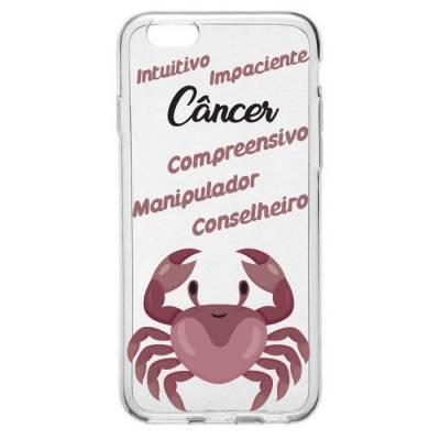 Capinha para Celular Signo de Câncer
