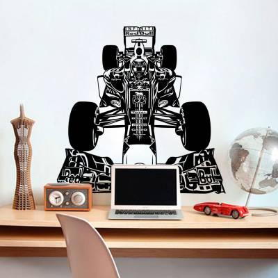 Adesivo de Parede Formula 01 Red Bull